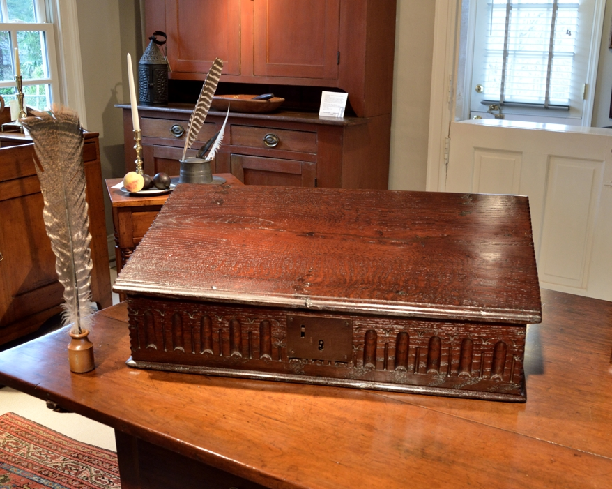 Jacobean Oak Desk Box
