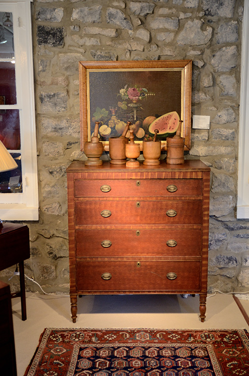 Paint-Decorated-Sheraton-Chest-Drawers