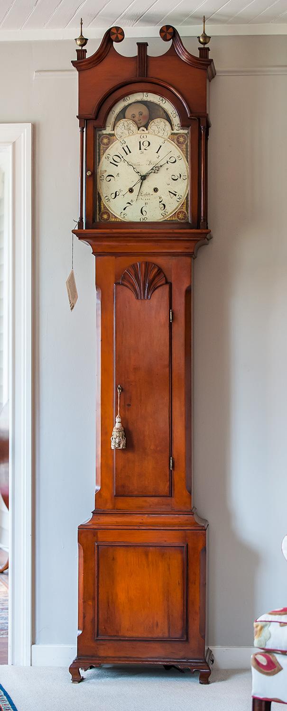 Federal-Cherry-Tall-Case-Clock
