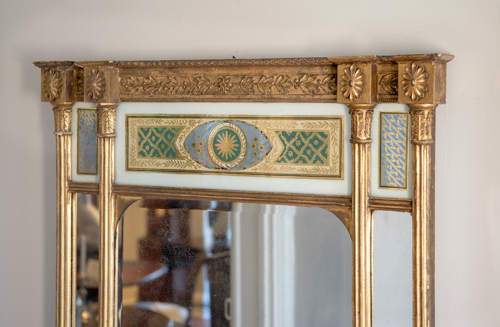 Federal Giltwood Carved Mirror