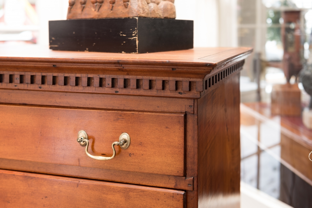 Chippendale Maple Tall Chest Of Drawers 08 Raymond James