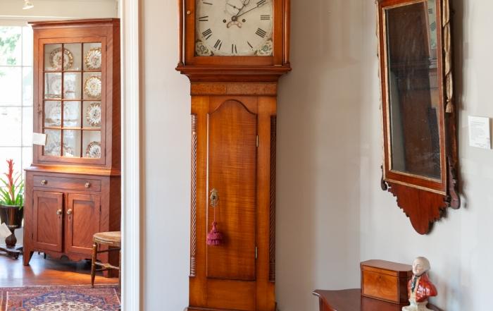 Federal Maple Tall Case Clock
