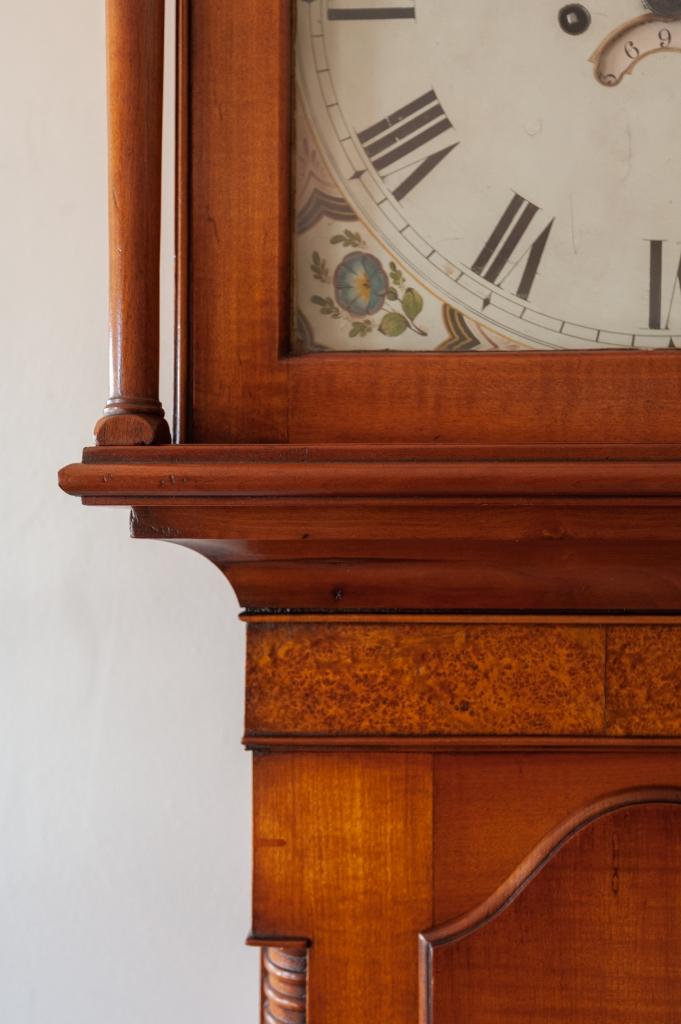 Tall Clock Case Detail