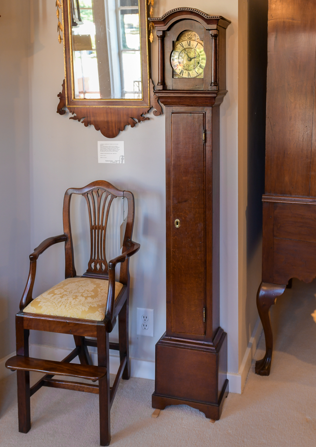 Continental Oak Dwarf Clock