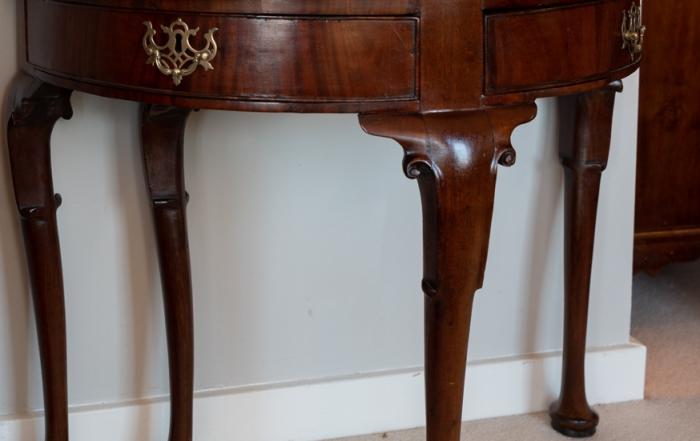 George II, Mahogany Games Table