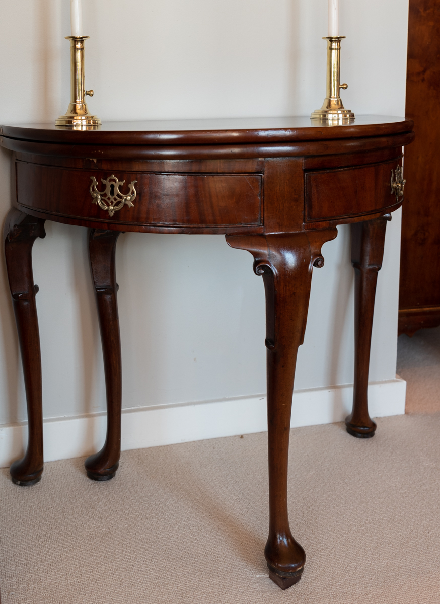 George II,, Mahogany Games Table