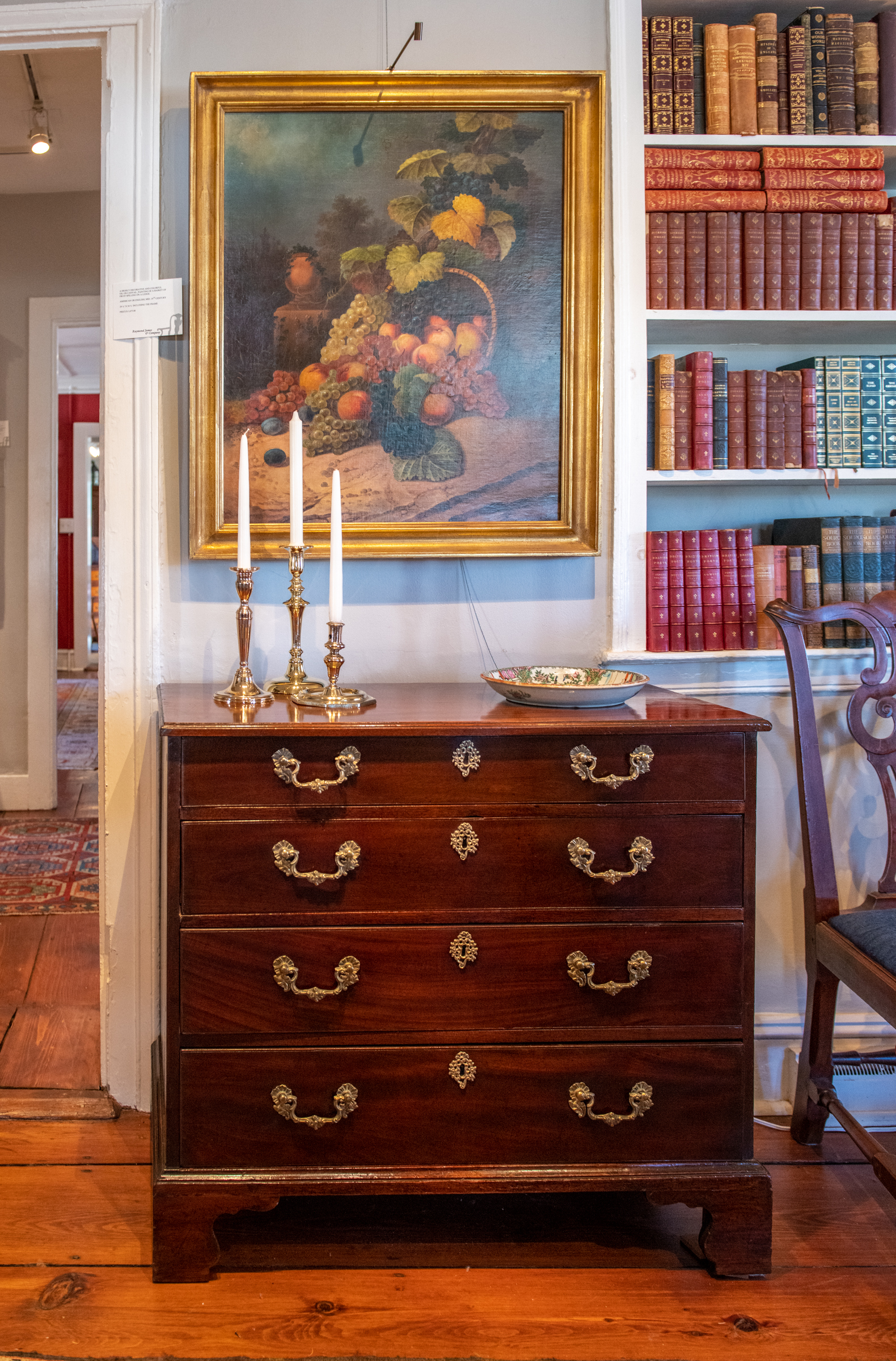 George III Mahogany Bachelor's Chest