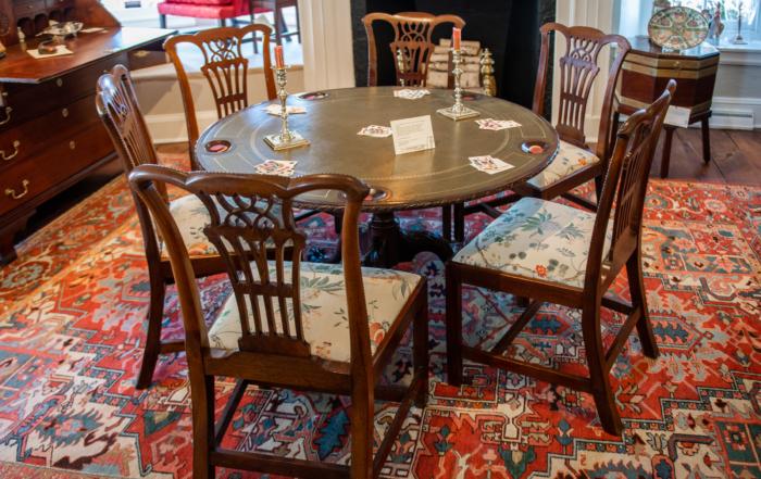 George III Mahogany Dining Chairs
