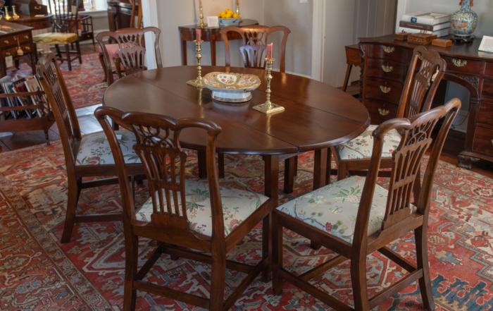 George III Mahogany Wake Table