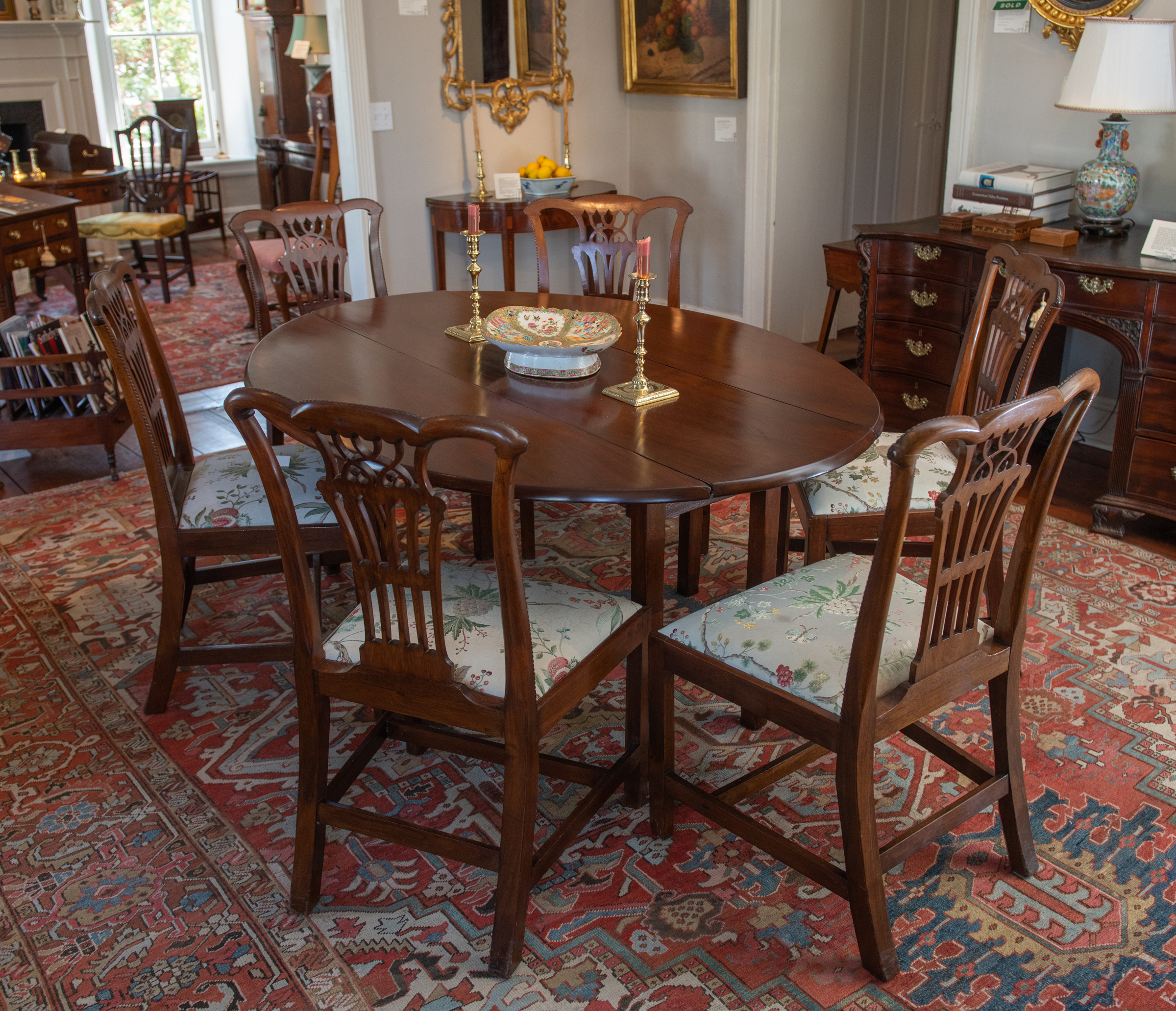 George III Mahogany Wake Table